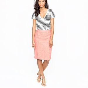 J. Crew | No. 2 Pencil Skirt in Neon Tweed